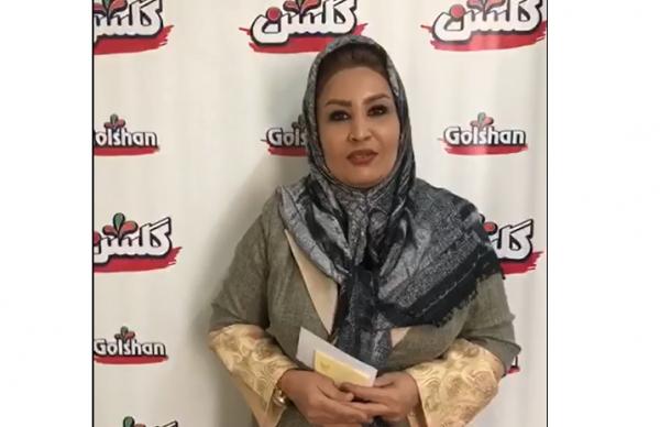خانم اعظم مرادی برنده یک ربع سکه بهار آزادی در فستیوال شگفتی های گلشن